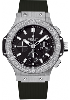 Hublot 44mm Steel Diamonds