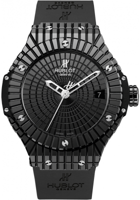 Hublot 41mm Black Caviar