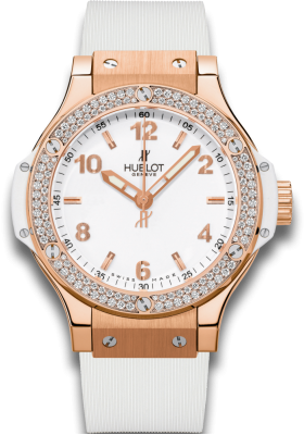 Hublot 38mm Gold White Diamonds