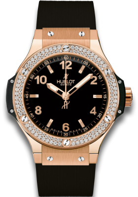 Hublot 38mm Gold Diamonds