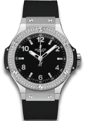 Hublot 38mm Steel Diamonds