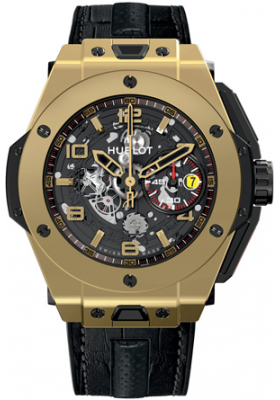 Hublot 45mm Ferrari Magic Gold