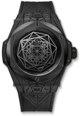 Hublot 45mm Sang Bleu All Black