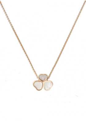 Chopard Wings Necklace Rose Gold