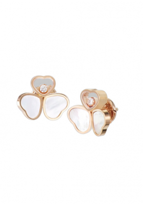 Chopard Wings Earrings Rose Gold