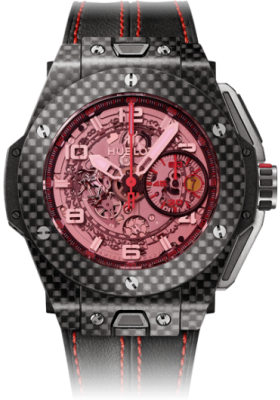 Hublot 45mm Ferrari Carbon Red Magic