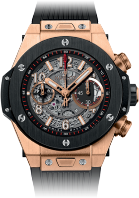 Hublot 45mm Unico King Gold Ceramic