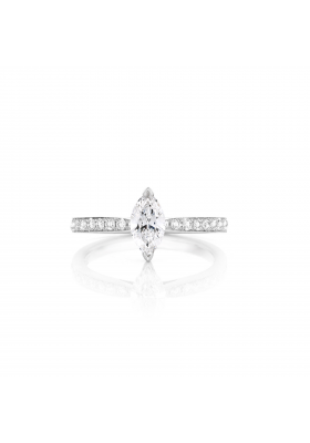 SLAETS Fine Jewellery Fancy Shape Diamond Marquise Ring