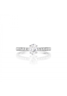 SLAETS Fine Jewellery Fancy Shape Diamond Oval Ring