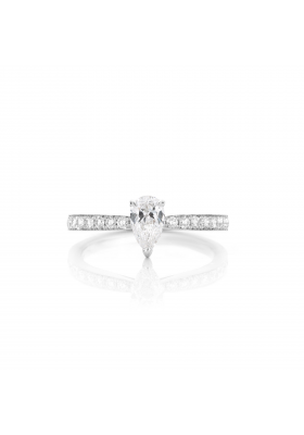 SLAETS Fine Jewellery Fancy Shape Diamond Pear Ring