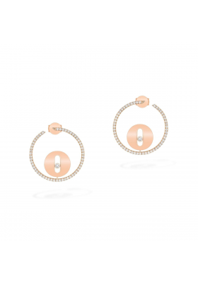 Messika Collection Earrings PM Pink Gold