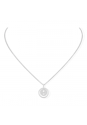 Messika Collection Necklace PM Pavé White Gold