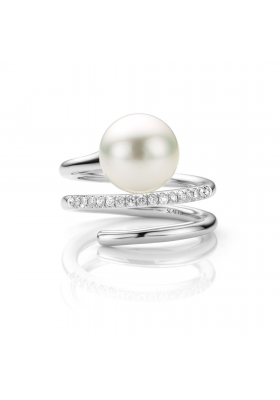 SLAETS Fine Jewellery South Sea Pearl with Diamonds *VERKOCHT*